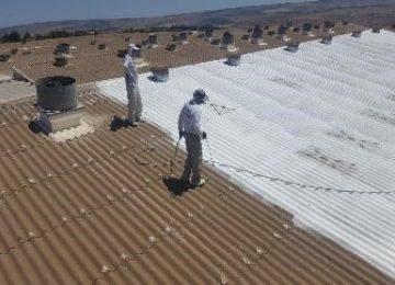 בידוד גגות במפעל מדף פלזית – קיבוץ גזית