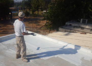 בידוד גג בטון